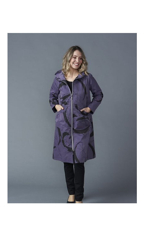 Vivid Long Rain Parker Jacket V4392