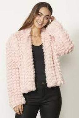 Caju Pink Fur Jacket CZ311