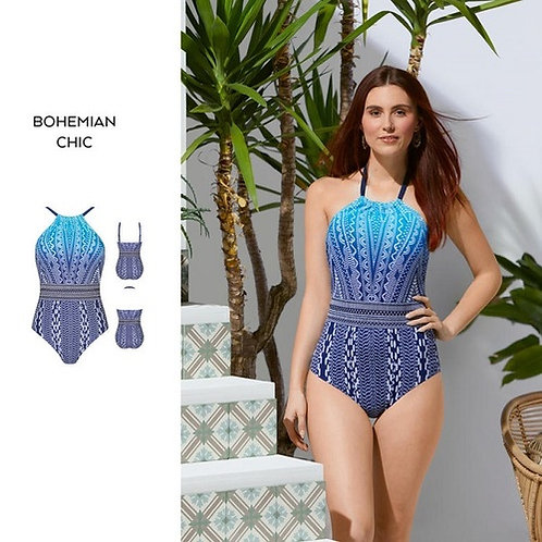 Amoena Bohemian Chic One Piece Swimsuit