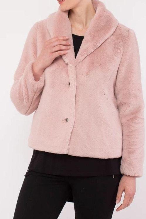 Ping Pong Blush Fur Jacket 505426