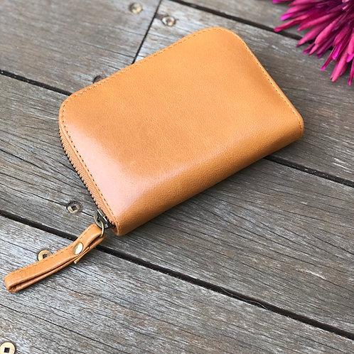 Timeless Mini Zip Round Wallet
