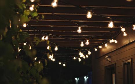 Bistro Style String Lighting