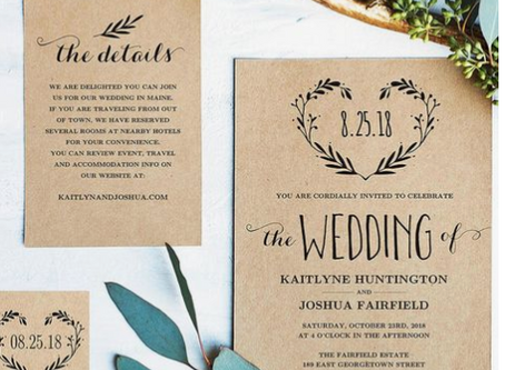 Exactly What You Should (and Shouldn't) Put On Your Wedding Invitations