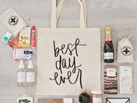 The 6 Must-Have Elements for a Perfect Wedding Welcome Bag