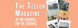 The Teller Magazine header 2019