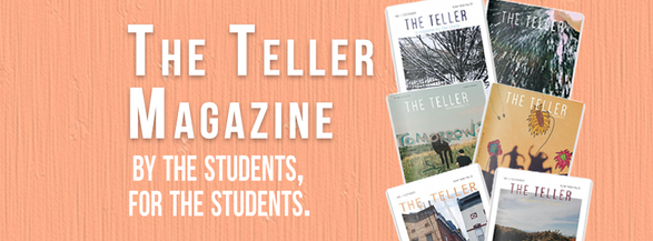 The Teller Magazine header 2019