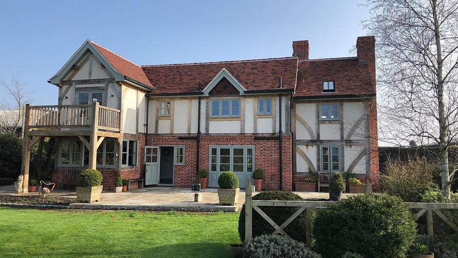 Oak Frame Houses in the United Kingdom