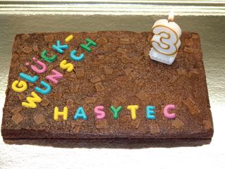 Herzlichen Glückwunsch HASYTEC!