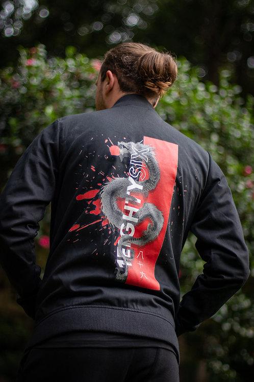 Ryu Bomber Jacket | Unisex | Black