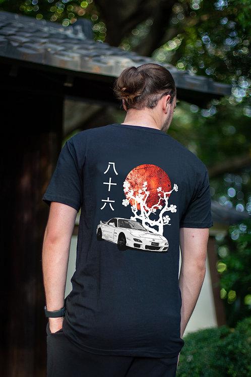 Tsuki T-Shirt   Unisex   Black