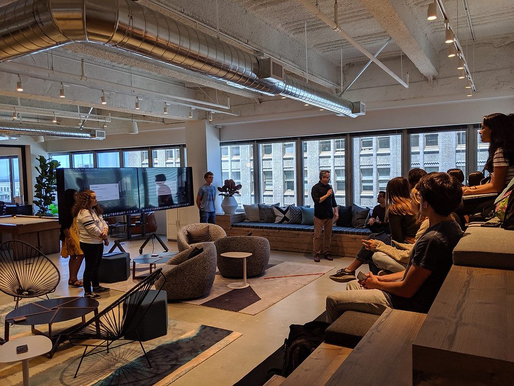 Our Demo Day was hosted at CI&T offices in Oakland, and counted with the feedback of Daniel Viveiros, CTO, and Dan Pieper, Head of Design