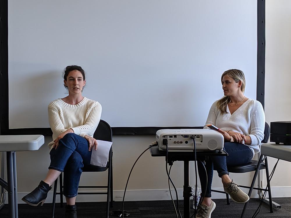 Nicole Orlov, Attorney at Atrium, and Christina Crosetti, head of operations at Atrium