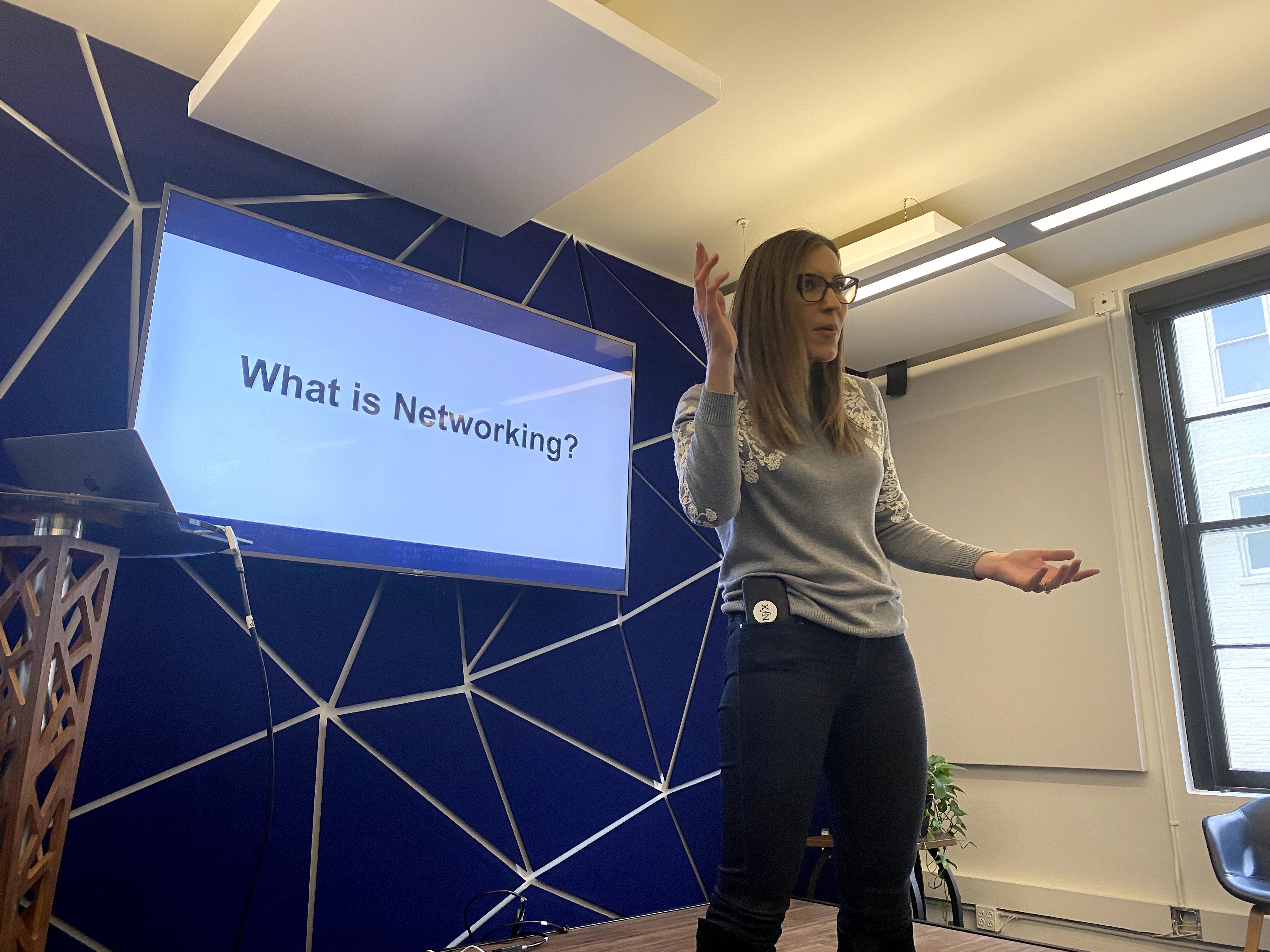 Christen O'Brien, VP of Marketing at NFX Venture Capital, shared her awesome tips about the importance of networking