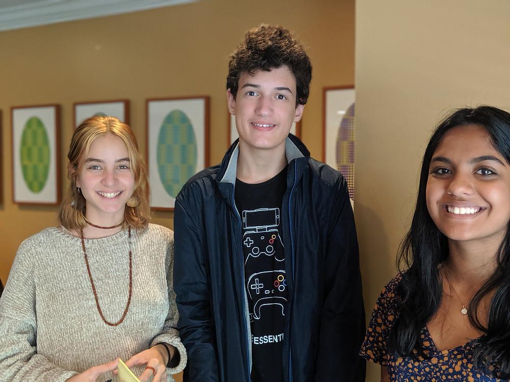 Mariana, Gabriel and Vrinda