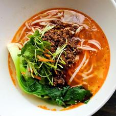 Sze Chuan Minced Pork Noodle Soup