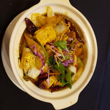 Stir Fry Pork Intestine with Pickled Cabbage