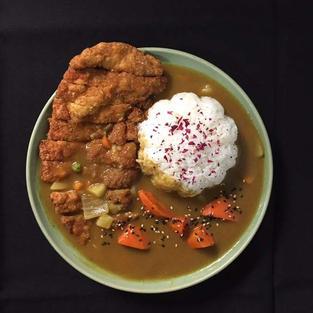 Japanese Curry w. Chicken katsu