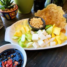 Rojak (Malaysia Fruit Salad)