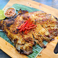 Malaysia Style Grilled Skate