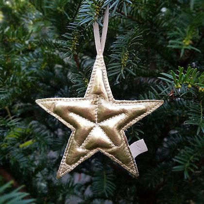 Kerstster goud