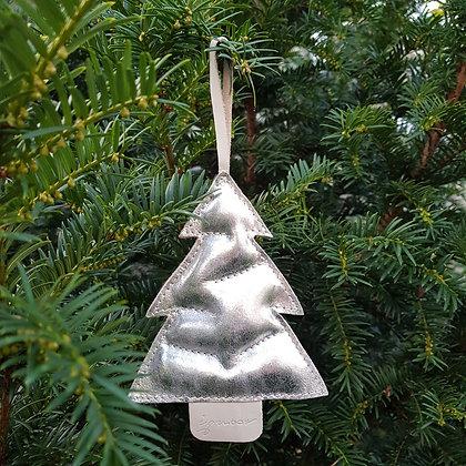 Kerstboompje zilver