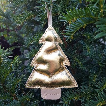 Kerstboompje goud
