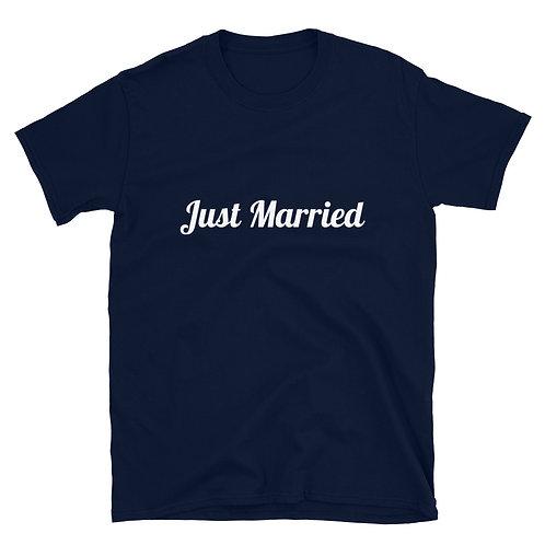 Just Married Short-Sleeve Unisex T-Shirt