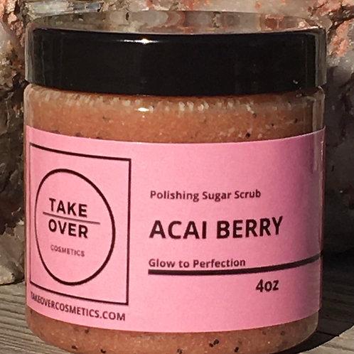 Acai Berry Sugar Scrub