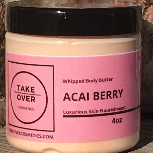 Acai Berry Whipped Body Butter