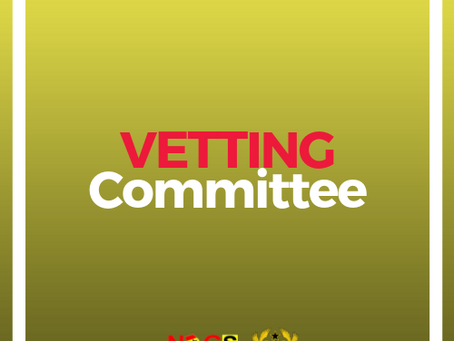 NATIONAL EXECUTIVE COMMITTEE VETTING 2019