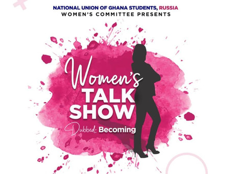 "Women's Commission introduces the WOMEN'S TALK SHOW - ""BECOMING"""