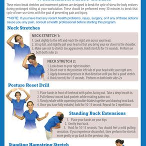 Neck and Back Pain - Workstation Micro-breaks