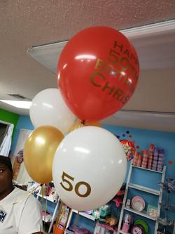 Custom Helium Balloons