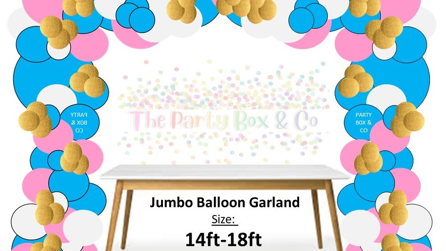 Jumbo Balloon Garland