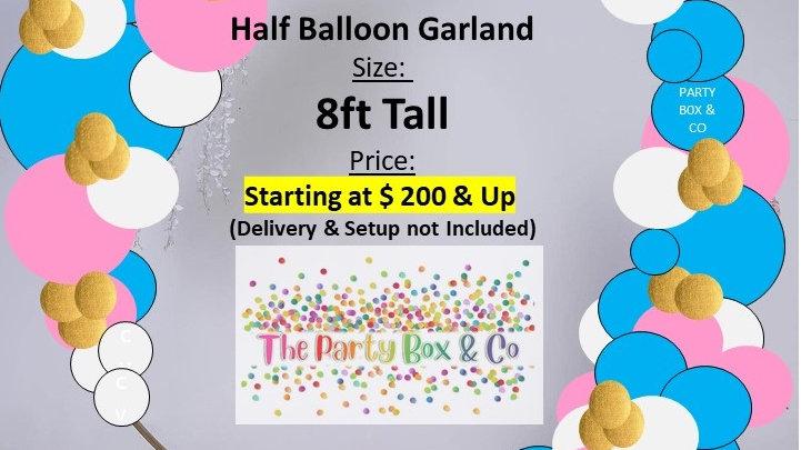 Half Balloon Garland