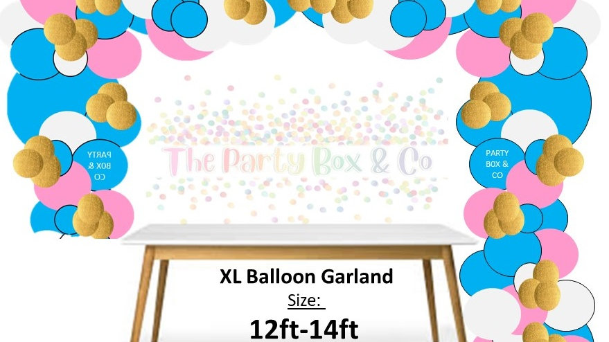 XL Balloon Garland