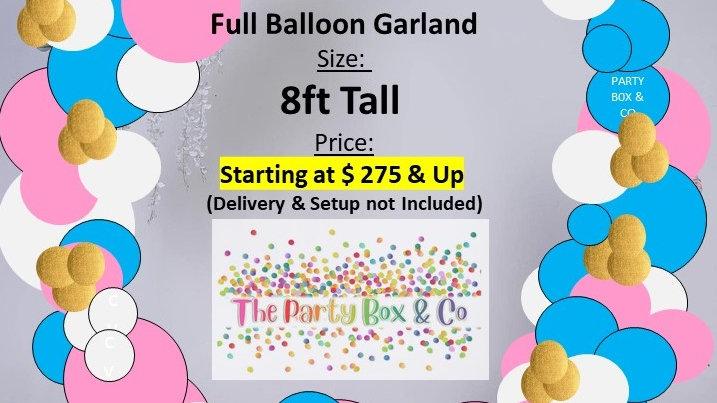 Full Balloon Garland