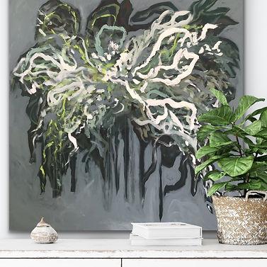 Flowing 01 - Art by Jannie Nyegaard - 100x80 - 03.JPG