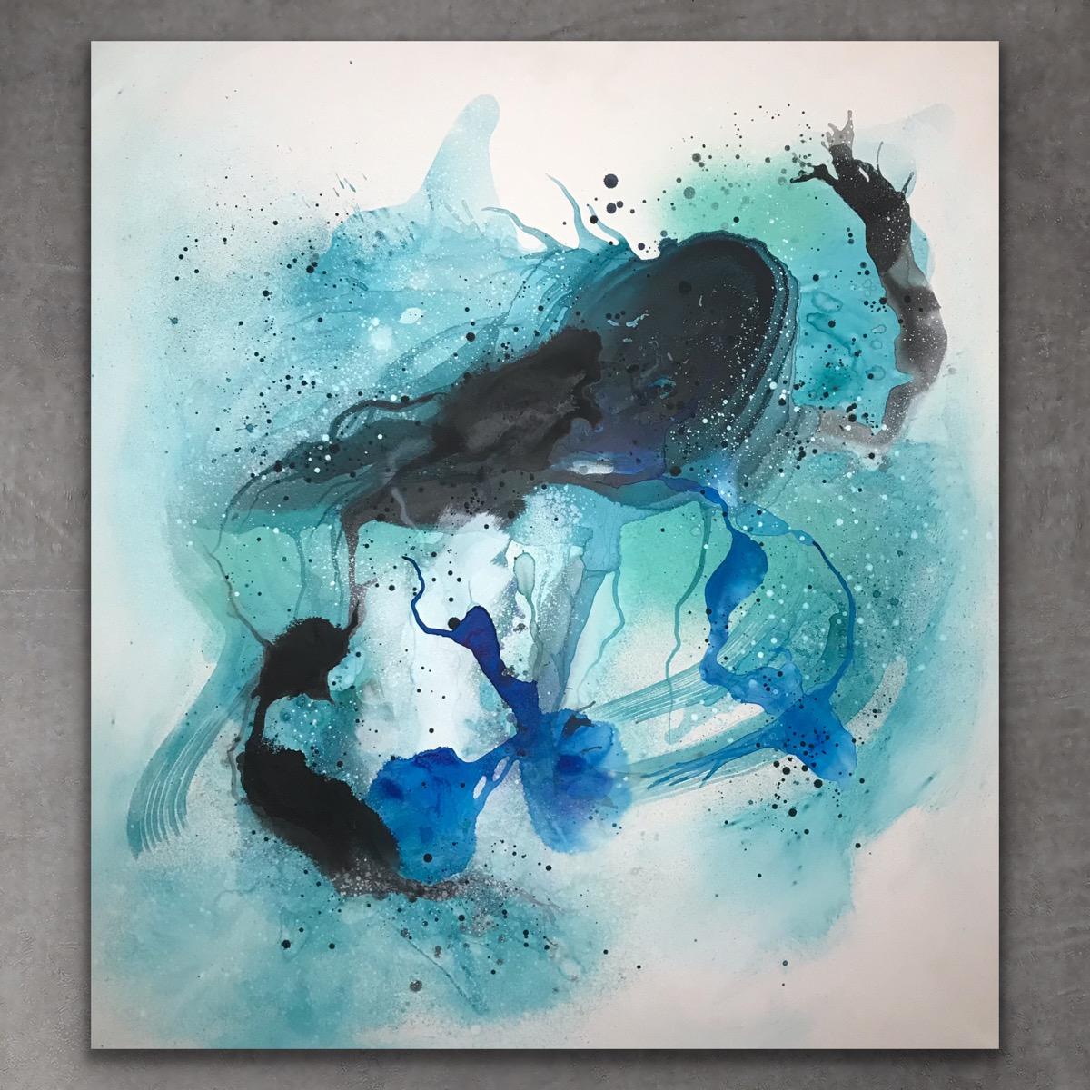 Take a deep breath 2 stk 100x90 - art by