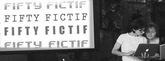 Fifty-Fictif de Anne Mulpas et Isabelle Delatouche. La Recyclerie, Paris.
