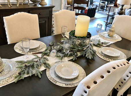 Transitioning Your Holiday Table Into The New Year