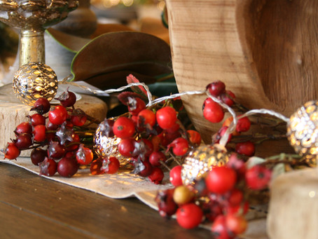 Transitioning your Table from Thanksgiving to Christmas