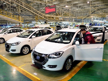 Expanding Its Lead In New Energy Vehicles, China!