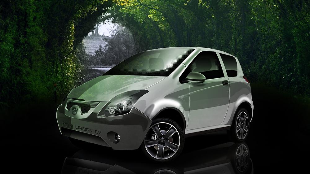 Amsia Motors Komi Urban EV