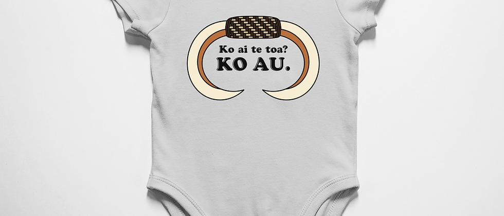 Ko ai te toa? Ko au. (Who's the worrier? I am.)