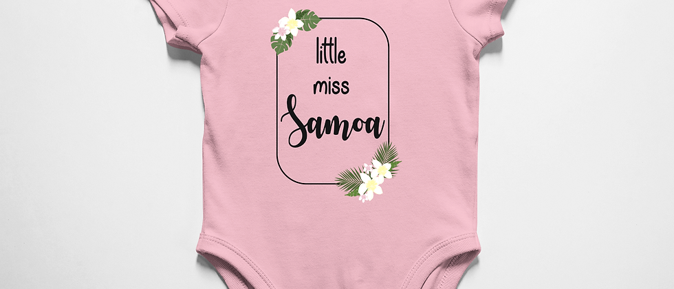 little miss Samoa