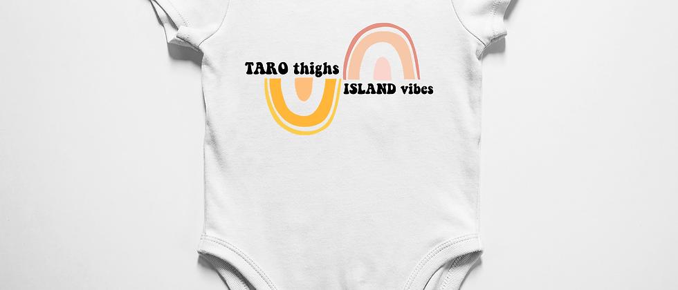 Taro thighs, Island vibes
