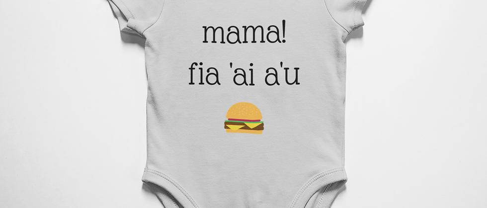Mama! fia 'ai a'u (Mum! I'm hungry) Samoan
