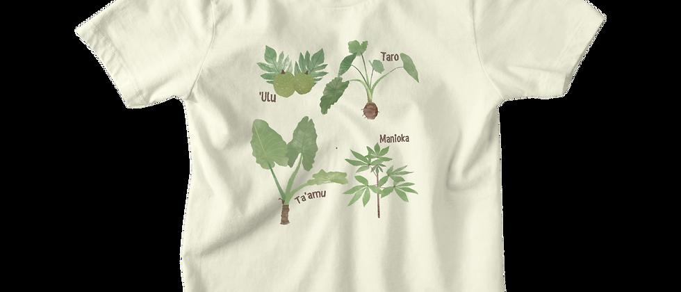 Plants in Samoan Tee