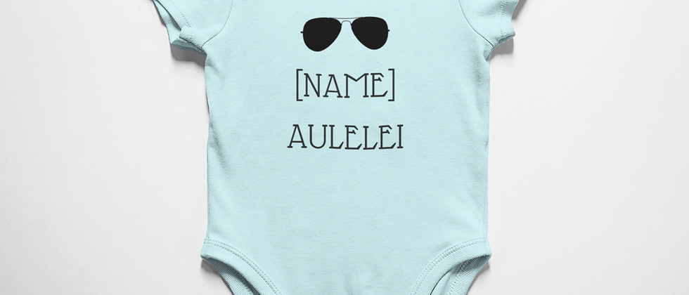 Custom Baby Aulelei